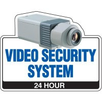 Video Security System Security Signs