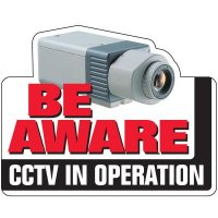 CCTV Security Signs