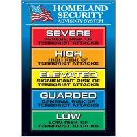 Homeland Security Advisory System  Wallchart