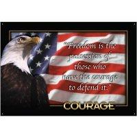 Homeland Security Courage Wallchart