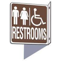 Handicap Men / Women Restroom Sign
