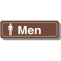 Men's Restroom Decor Signs