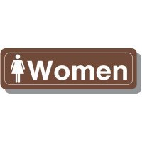 Women's Restroom Decor Signs