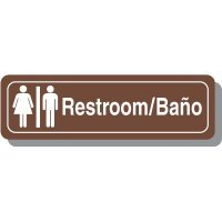 Bilingual Restroom Signs