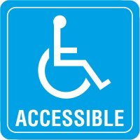 Handicap Accessible Decor Signs