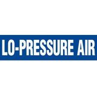 Lo-Pressure Air Pipe Markers