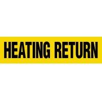 Heating Return Pipe Markers