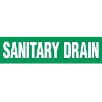 Sanitary Drain Pipe Markers