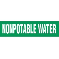 Nonpotable Water Pipe Markers