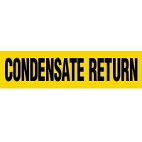 Condensate Return Pipe Markers