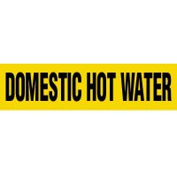 Domestic Hot Water Pipe Markers
