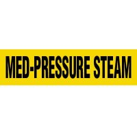 Med-Pressure Steam Pipe Markers