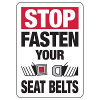 Fasten Your Seat Belts Sign