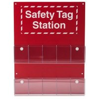 Information Center: Plastic, White on Red, 22 in H x 16.5 in W x 2.25 in D