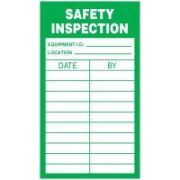 Inspection Record Labels - Safety Inspection