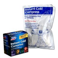 "Instant Cold Compress, Boxed 6""x9"" - 1 each First Aid Only M564-E"