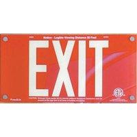 Photoluminescent Exit Sign