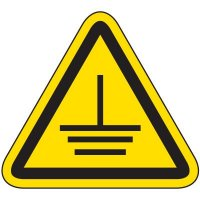 International Symbol Labels - Electrical Grounding