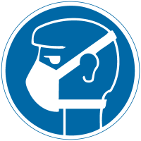 International Symbol Labels - Mask Required