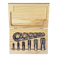 Irwin Hanson® - High Carbon Steel 12-Piece Tap & Re-Threading Pipe Die Sets  1920