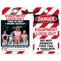 EZ Photo Lockout Tags - Why I Work Safely