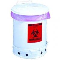 Justrite® Biohazard Waste Can
