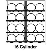 Justrite® Aluminum Cylinder Storage JUSTRITE 23005