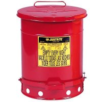 Justrite® Oily Waste Safety Can
