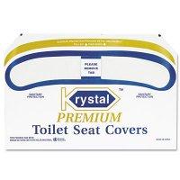 Krystal Premium Toilet Seat Covers
