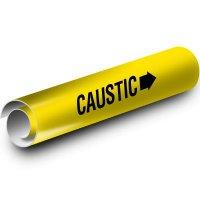 Caustic Kwik-Koil Pipe Markers