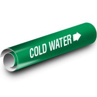 Cold Water Kwik-Koil Pipe Markers