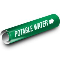 Potable Water Kwik-Koil Pipe Markers