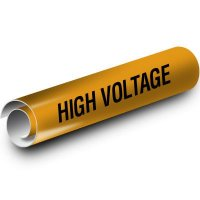 High Voltage Kwik-Koil Pipe Markers