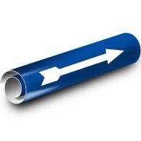 Blue Arrow Kwik-Koil Pipe Markers