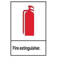 Fire Extinguisher Pictogram Sign
