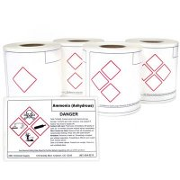 LabelTac™ GHS Die Cut Printer Labels