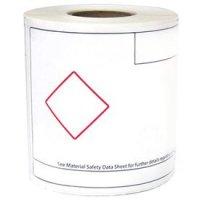 LabelTac™ GHS Die Cut Printer Labels