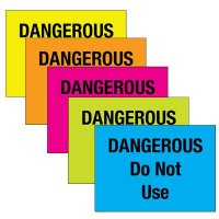 Ladder Inspection Labels - Dangerous Do Not Use