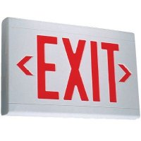 UL924 LED Exit Sign EXKL2RWWU