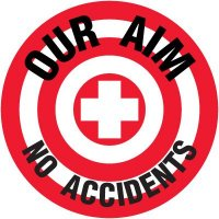 Floor Safety Signs - Our Aim No Accidents