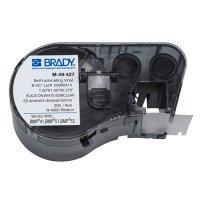 Brady BMP51/BMP41 M-49-427 Label Cartridge - Black on White/Clear