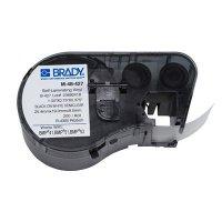 Brady BMP51/BMP41 M-48-427 Label Cartridge - Black on White/Clear