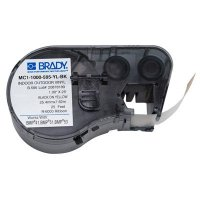 Brady BMP51/BMP41 MC1-1000-595-YL-BK Label Cartridge - Black on Yellow
