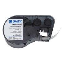 Brady BMP51/BMP41 M-92-428-BB Label Cartridge - Black on Light Gray