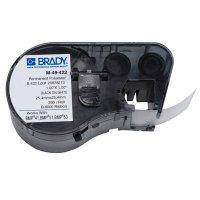 Brady BMP51/BMP41 M-49-422 Label Cartridge - Black on White