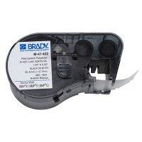 Brady BMP51/BMP41 M-47-422 Label Cartridge - Black on White