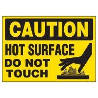 Hot Surface Warning Markers