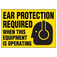 Ear Protection Warning Markers