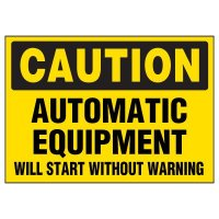 Automatic Equipment Warning Markers