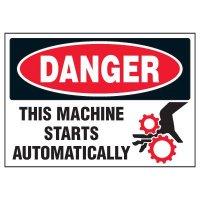 Automatic Start Warning Markers